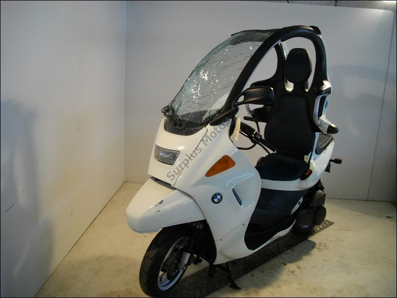motos accident es bmw c1 125 n 1 de la pi ce scooter d occasion garantie surplus scooters. Black Bedroom Furniture Sets. Home Design Ideas